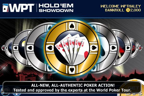 World Poker Tour® Hold 'Em Showdown на вашия iPhone 101