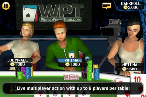 World Poker Tour® Hold 'Em Showdown на вашия iPhone 103