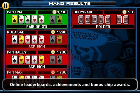 World Poker Tour® Hold 'Em Showdown на вашия iPhone 106