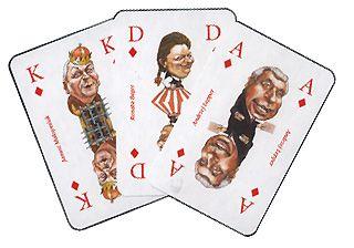 Poker mniej serio - 6 ciekawych talii kart 106