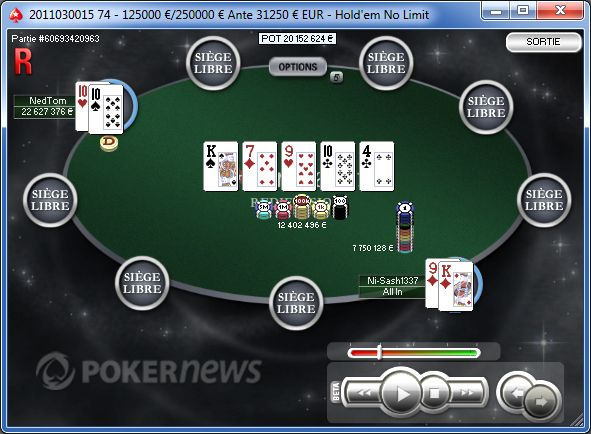 Pokerstars.fr SCOOP : Guillaume Darcourt 3e du Main Event 101