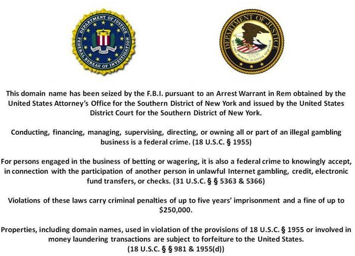 Lecsapott az FBI a PokerStarsra, a Full Tilt Pokerre és az Absolute Pokerre! 101