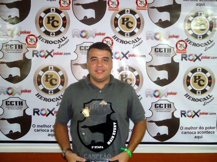 Rafael Pitanga, Campeão da Segunda Etapa da Temporada 2011 do Campeonato Carioca de Texas Hold'em