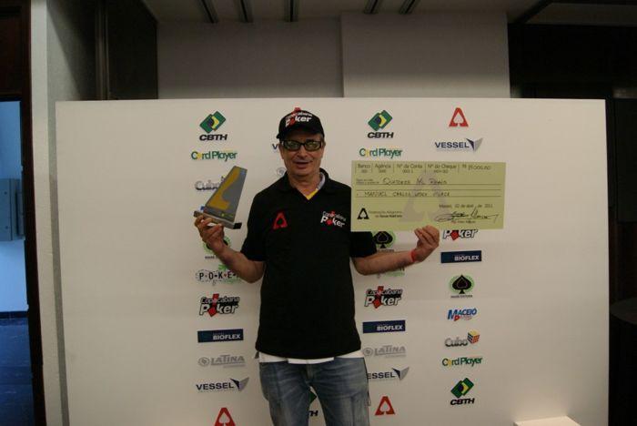 Manoel Carlos Vilaça, Campeão da Terceira Edição do Play Poker Alagoas