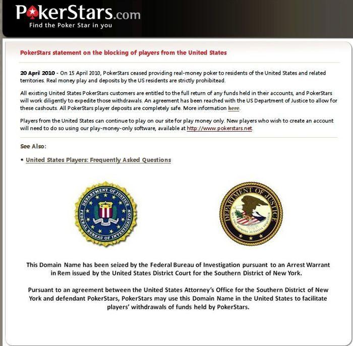Full Tilt Poker和Poker Stars 的com域名恢复 101