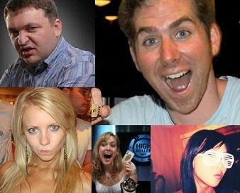 Tror du at du kan slå disse personene? Vis oss ditt #madnessface.  Les mere: http://no.pokernews.com/nyheter/2011/04/pokernews-social-media-madness-ingen-innskudd-4118.htm