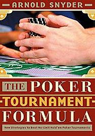 Biblioteczka pokerzysty - The Poker Tournament Formula 101