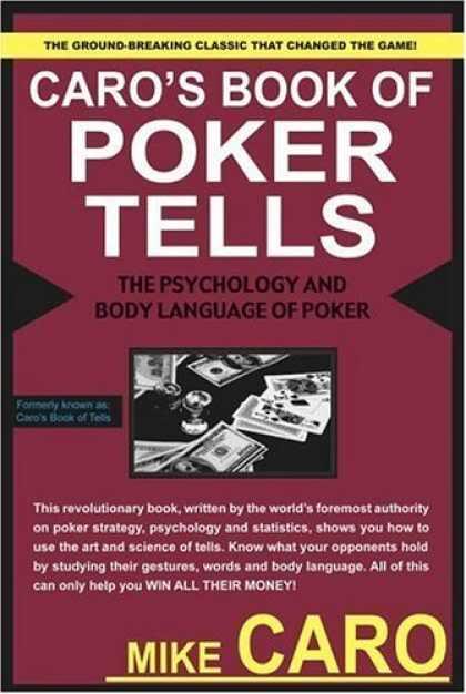 "Knygų lentyna: ""Caro's Book of Poker Tells"" 101"
