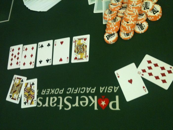 5월 1일 Poker Tour : Macau Poker Cup 새틀라잇 105