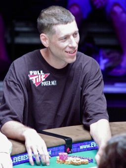 Huck Seed podczas WSOP 2010