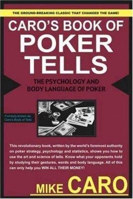 Книжная полка: «Язык жестов в покере» Майка Каро 101