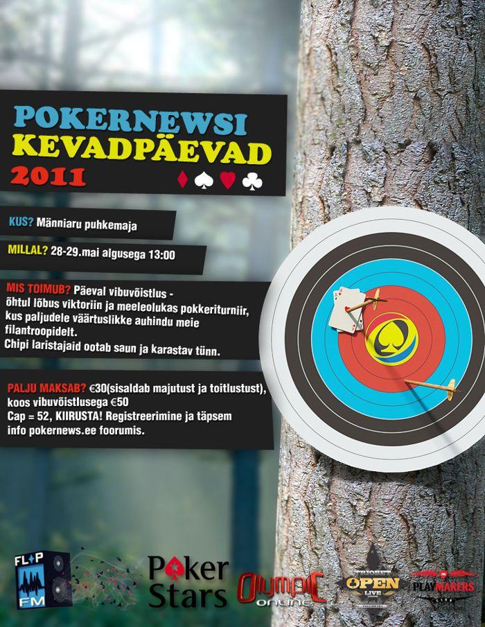 Pokernewsi kevadpäevadel vägevad auhinnad! 101