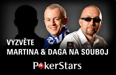 Na PokerStars si nyní můžete zahrát speciální souboj s Martinem a Dougem