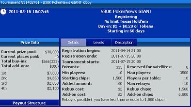 PokerNews turnyras su GIGANTIŠKU ,000 vertės garantuotu prizu 101