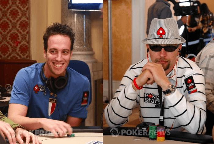 Členové Team PokerStars Pro Lex Veldhuis a Martin Hrubý