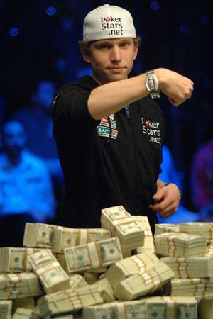Peter Eastgate ze swoją wygraną