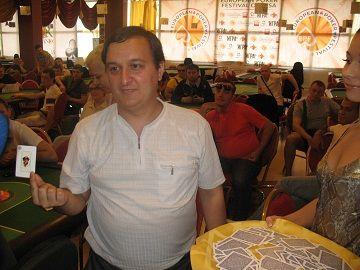 Vakar Odessā startēja jaunā pokera sērija EPF - European Poker Festival 101