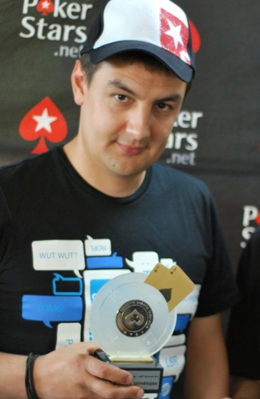 Antros vietos laimėtojas Agnius Ismailovas