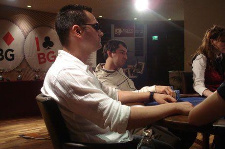 Djole na finalnom stolu - Danube Poker Masters