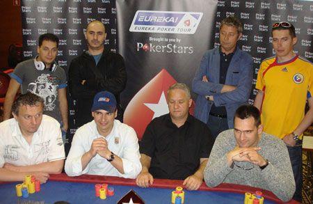 Finalni Sto EUREKA Poker Tour