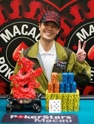 澳门HKD3,000,000保证金红龙杯锦标赛加拿大玩家夺冠 101