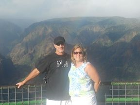 Chuck and Joanne in Hawaii - Jordan's Parents