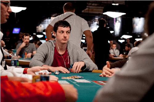 Tom Dwan - najczęstszy gość przy stołach WSOP