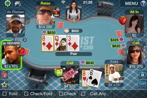 Texas Poker за всички с iPhone/Android 101