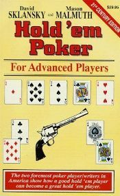 "Knygų lentyna: Davido Skalinsky ir Masono Malmutho ""Hold'em Poker For Advanced Players"" 101"
