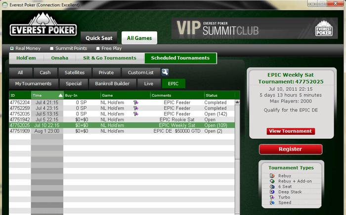 EPIC – Everest Poker International Cup 102