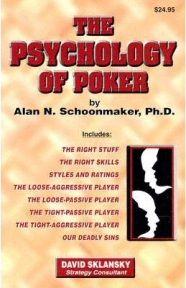 """Knygų lentyna: """"The Psychology of Poker"""" 101"""