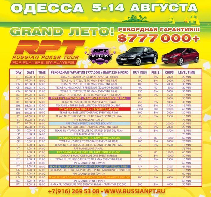 RPT Одесса с 5-го по 14-е августа - рекордная гарантия... 101