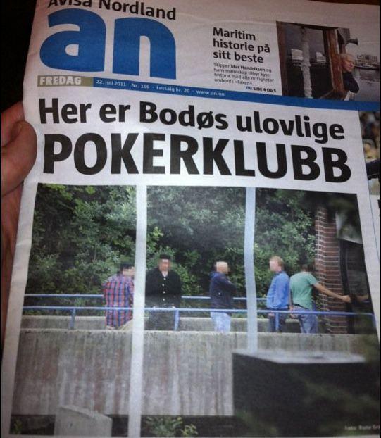 Bilde av dagens utgave av Avisa Nordland.