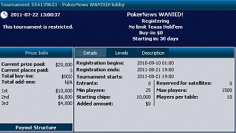 Już w sierpniu: ,000 William Hill Wanted 101