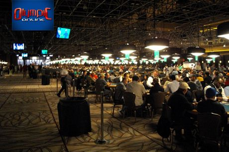 WSOP Pavillion-turniirisaal