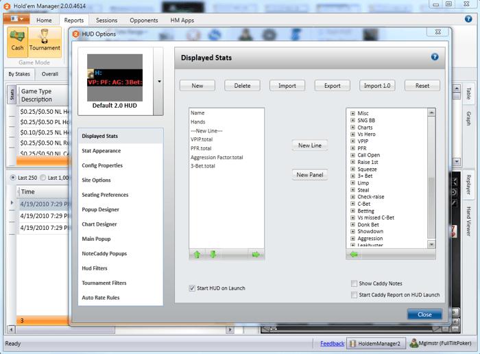 Holdem Manager 2: Beta verze je na světě 109