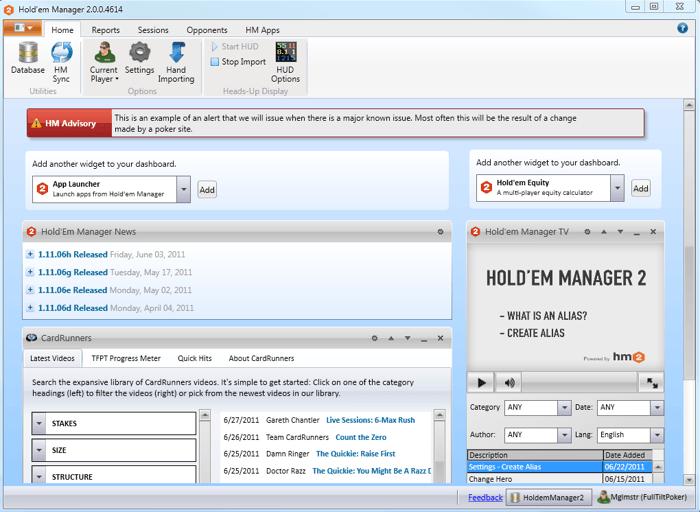 Holdem Manager 2: Beta verze je na světě 110