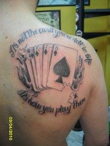 Poker Niezbyt Serio Tatuaże Pokernews