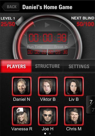 PokerStars часовник за игра на живо 103
