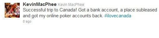 "Kevin ""ImaLuckSac"" MacPhee se preselio u Vankuver 101"