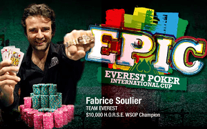 Bust Fabrice Soulier for 30,000 Summit Points, to be used in the Everest Store.