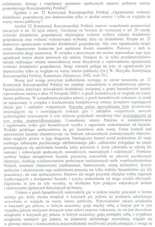 Jest odpowiedz Ministerstwa Finansów na skargę kasacyjną 107