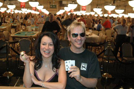 Jennifer Tilly a Phil Laak