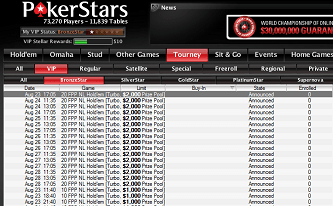 ,000 in Additonal VIP Freerolls This Week at PokerStars 101