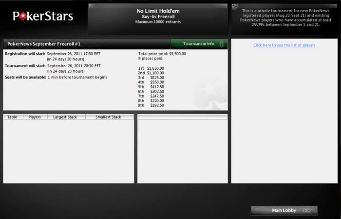 Нови PokerNews фрийроли за ,000 идват през септември 101