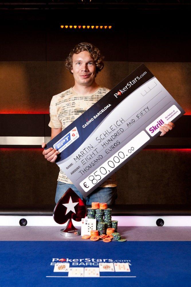 Martin Schleich - vítěz EPT Barcelona