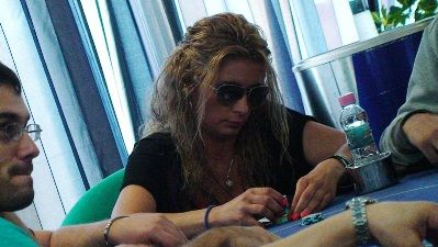 Маги Цанева на покер финала на ФМС 2