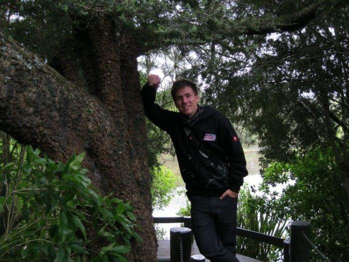 Martin na APPT na Novém Zélandu