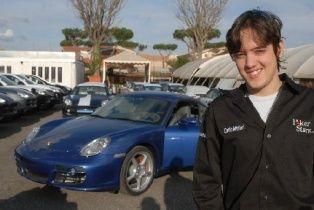 Italų SuperNova Dario Minieri tapo pirmuoju, už FPP įsigijusiu Porsche Cayman S