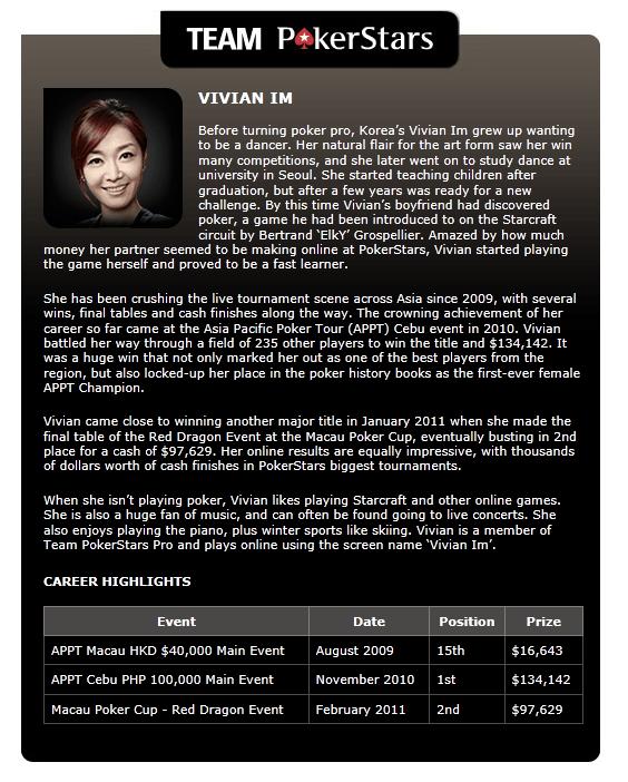 포커스타즈의 한국 최초 여성 프로! Vivian Im! 101